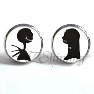 Jewelry - NEW Nightmare Before Christmas Silver Stud Earring